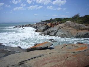 Adams Beach Rocks- King Tide