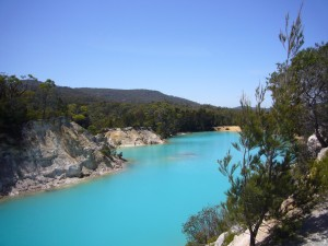Blue Lake South Mt Cameron