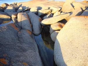 Rocks at Adams Beach