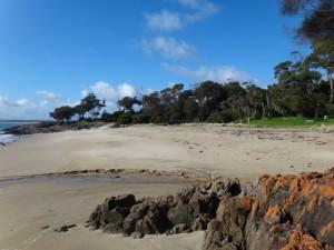 Croquet Lawn Beach, Bridport Tasmania