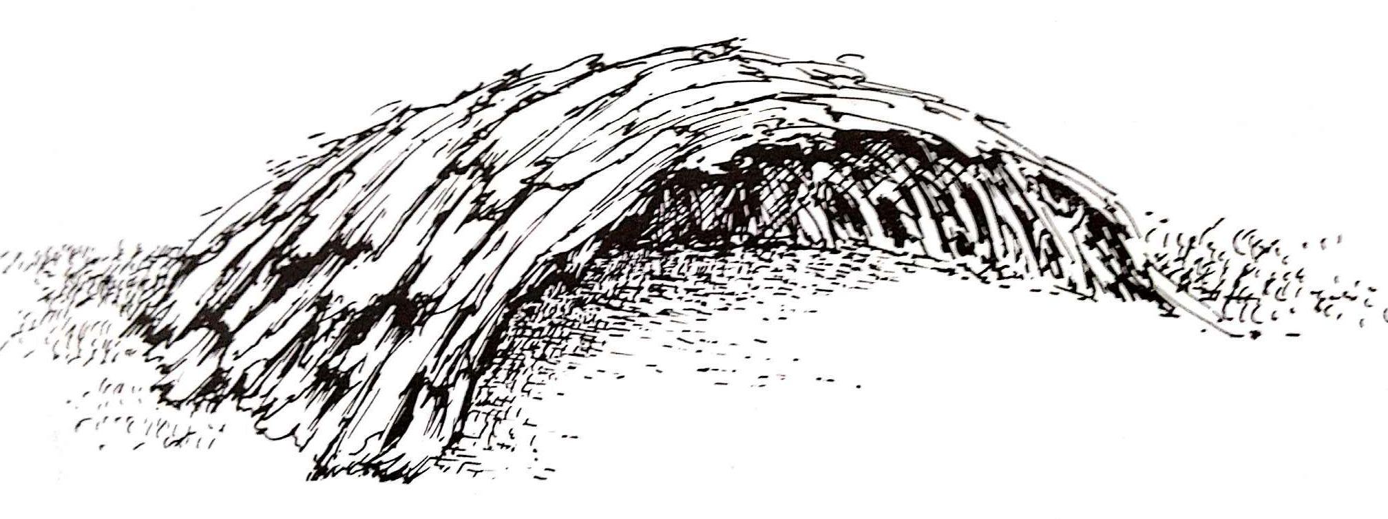 Half-domed huts