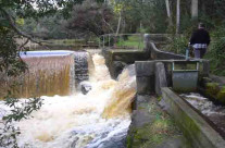 Weir and Water Supply System