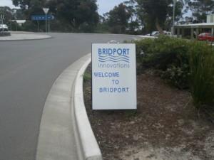 BI Welcome Sign