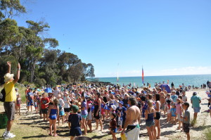 Australia Day Bridport Splash 2012